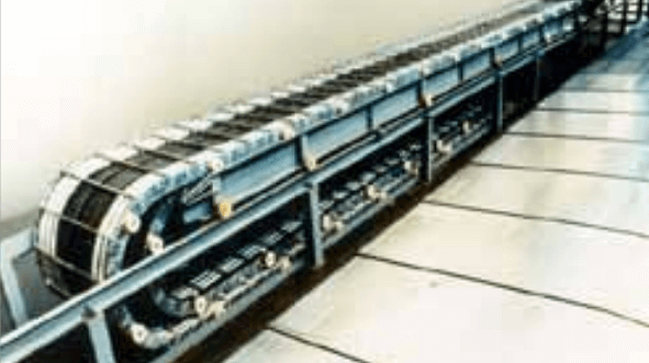 Rolling carriage system for cable carriers from Kabelschlepp Canada