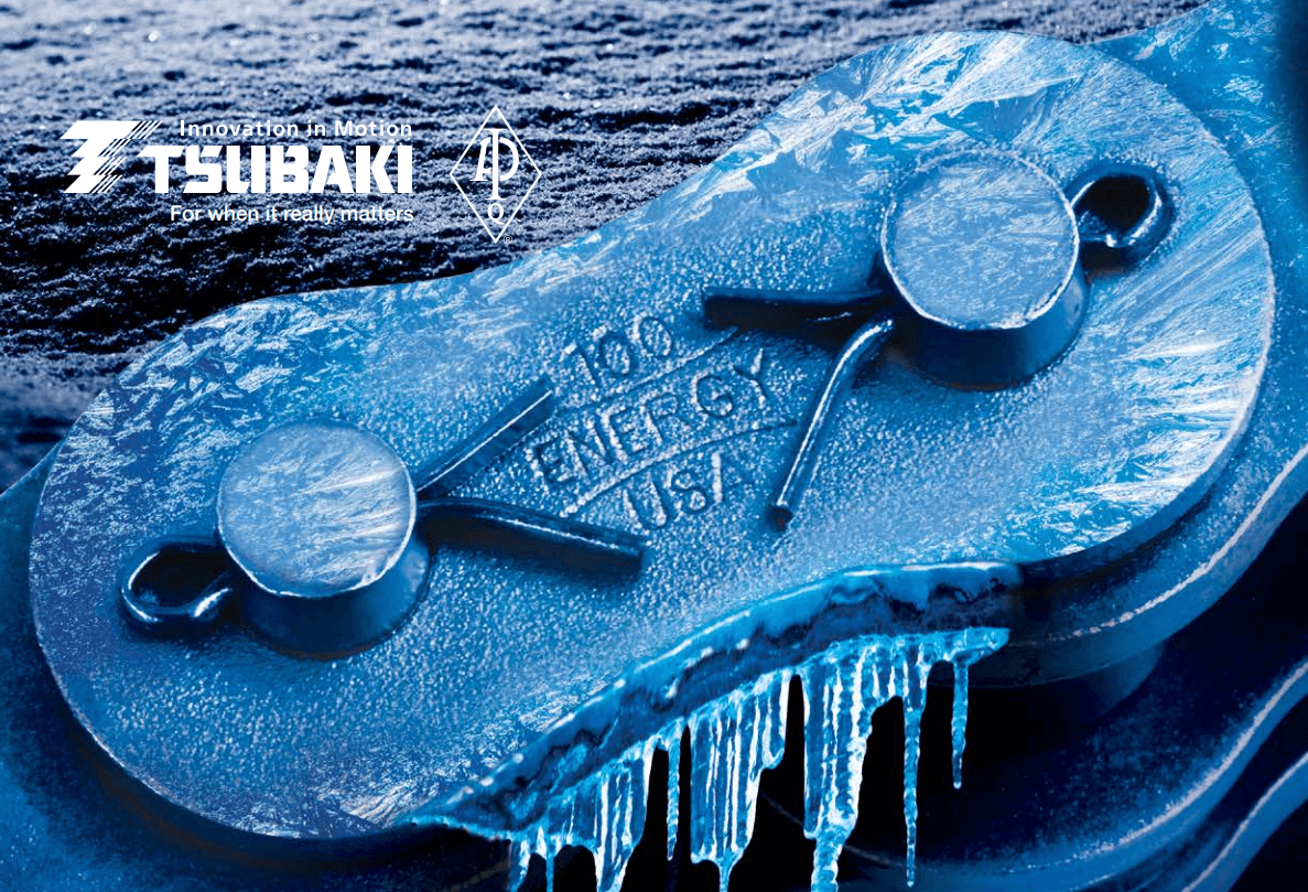 Energy Series Tsubaki Chain for Cold Harsh Environments