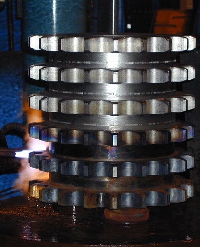 Large Pitch Roller Chain Sprockets