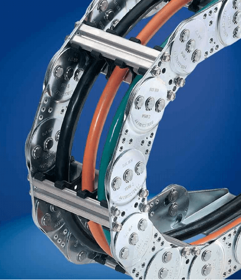 Varitrak S/SX Series steel cable carrier from Kabelschlepp